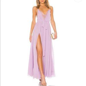 x REVOLVE Justin Gown in Lavender